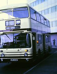 Slide 122-49 (Steve Guess) Tags: croydon surrey greater london england gb uk bus kentishbus leyland atlantean park royal lcbs an124 jpl124k