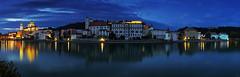 Passau Panorama (FH | Photography) Tags: passau panorama abends inn fluss bayern stadt pano stefansdom altstadt skyline tourismus wahrzeichen sehenswürdigkeit beleuchtet city zentrum kathedrale jesuitenkolleg veste oberhaus niederbayern georgsberg