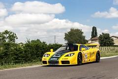 Harrods Mclaren F1 GTR (jordanpoole2) Tags: english bordeaux france gtr f1 mclaren harrods green yellow amazing canon supercar autocar auto exotic fast car super