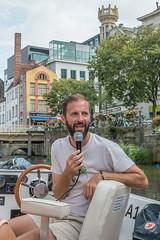 Ghent, Belgium-01773 (gsegelken) Tags: belgium ghent vantagetravel boat canal