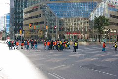 Portage & Main Round Dance 2018-09-30 — 13 (WPG Happening!) Tags: round dance rounddance portage main portageandmain portagemain pm 2018 residential school schools memorial ceremony residentialschools residentialschool canadianindianresidentialschools canadianindianresidentialschool indianresidentialschools indianresidentialschool indian indigenous native canadian nativecanadian american nativeamerican anishinaabe anicinabe people person group circle demonstration memorail commemoration protest winnipeg manitoba canada street road avenue st ave intersection traditional corner buildings building city exchange theexchange district exchangedistrict cityofwinnipeg orange shirt day shirts orangeshirtday