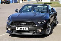 2018 Ford Mustang 5.0 GT FX68 SXT (BIKEPILOT, Thx for + 4,000,000 views) Tags: 2018 ford mustang 50gt fx68sxt grey car vehicle automobile transport classic blackbusheairport hampshire surrey uk england britain eglk sportscar