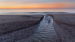 Sunset at the Brouwersdam (Wim Boon Fotografie) Tags: wimboon sunset brouwersdam canoneos5dmarkiii canonef2470mmf28liiusm leelandscapepolariser leefilternd09softgrad zeeland beach strand