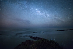 6511blend (gruff.harding) Tags: milkyway stars night nightscape sea astrophotography astro