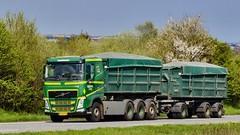 AU90078 (18.05.02, Motorvej 501, Viby J)DSC_6227_Balancer (Lav Ulv) Tags: 246545 volvo volvofh fh4 fh500 e6 euro6 green 8x4 2015 rigid trailer nielsthnielsen nørup rolloffcontainer truck truckphoto truckspotter traffic trafik verkehr cabover street road strasse vej commercialvehicles erhvervskøretøjer danmark denmark dänemark danishhauliers danskefirmaer danskevognmænd vehicle køretøj aarhus lkw lastbil lastvogn camion vehicule coe danemark danimarca lorry autocarra danoise vrachtwagen motorway autobahn motorvej vibyj highway hiway autostrada 3axletrailer
