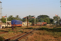 I_B_IMG_0406 (florian_grupp) Tags: asia myanmar burma train railway railroad semaphore signal british bago pegu myanmarailways southeast metergauge metregauge 1000mm diesel locomotive