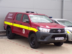 6153 - Derbys FRS - FJ67 GYK - 101_2286 (Call the Cops 999) Tags: uk gb united kingdom britain england derbyshire east midlands 999 112 emergency service services vehicle vehicles fire and rescue frs open day 4 august 2018 great
