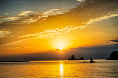 Nishi-Izu sunset scenery (shinichiro*) Tags: 20180923ds54775hdr 2018 crazyshin nikond4s afsnikkor70200mmf28ged september autumn shizuoka japan jp 大田子海岸 西伊豆 ゴジラ岩 nik hdr 44224338914 3695705 201810gettyuploadesp