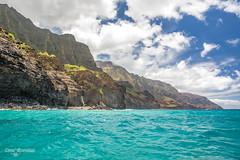 250A8949 (DanaMichelle309) Tags: hawaii kauai napali napalicoast napalicoasthanaleitours ocean pacificocean kapaa unitedstates us
