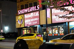 Showgirls (allensinho) Tags: seattle washington pnw pikesplace longexposure portrait landscape boat city skyline gumwall neon streetphotography bike market flag