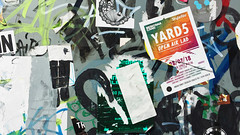 Yard 5 (tom.too) Tags: art collage found poster train berlin