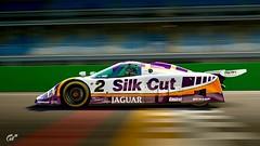 Jaguar XJR-9 '88 (chumako@bellsouth.net) Tags: sport racing track racecar cars gtsport ps4 playstation gaming 1988 lemans silkcut xjr9 jaguar