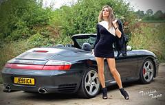 Porsche Pose (jessicajane9) Tags: cd transvestite feminised tg xdress trans m2f transgender crossdressing tv crossdress tgurl feminization car outdoor tranny crossdresser tgirl pose