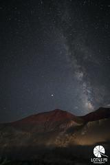 Starlit Sky In Moonland (Lotus Mi) Tags: lamayuru india star starlit travel mountain journey night trip ladakh sony α7ⅱ milkyway light