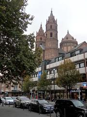 Blick zum Wormser Dom St. Peter (fotoculus) Tags: rheinlandpfalz deutschlandalemaniagermanyduitslandalemanhagermaniaallemagnetyskland worms dom
