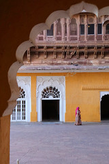 Inside Mehrangarh Fort, Jodhpur (dr.subhadeep mondal's photography) Tags: streetphotography wideangle street people public canon color minimalism architecture rajasthan india rajasthandiary incedibleindia woman mehrangarh fort jodhpur travel travelphotography subhadeepmondalphotography canon800d