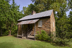 Stone Blockhouse Oconee Station (rschnaible) Tags: oconee station the south carolina landscape outdoors woods forest trees stone blockhouse fort fortification circa 1792 building architecture history historic old