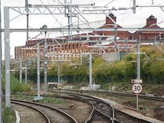 B434r Salford Crescent (61379 Mayflower) Tags: railway railways electrification