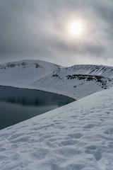Viti Crater (polychromatisch) Tags: iceland sony alpha 7r3 7riii ilce7rm3 sel24105 sel24105g 24105 24105mm f4 f40 viti crater volcano
