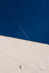 All of the Lines (Leon Sammartino) Tags: minimal sky lines dull fujifilm oslo norway blue