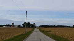 Country Road (ramseybuckeye) Tags: greene county ohio rural farm country fields road barn silo