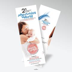 mommies world workshop (locolime creations) Tags: flyer leaflet design designer graphics creation creative creator communication promotion promo marketing poster banner