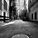 Montreal Manhole in Alley thumbnail