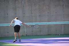 Tennis Player (UWW University Housing) Tags: uww uwwhitewater uwwcampus residencehalls studentlife students movement nature social socializing lifestyle active happyness whitewaterwarhawks whitewaterwi studentinvolvement court tennis racket