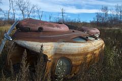 Lost & Found (Marv R Penner) Tags: saskatchewan prairie old antique forgotten farm machinery autumn canada nikon d800e 2470