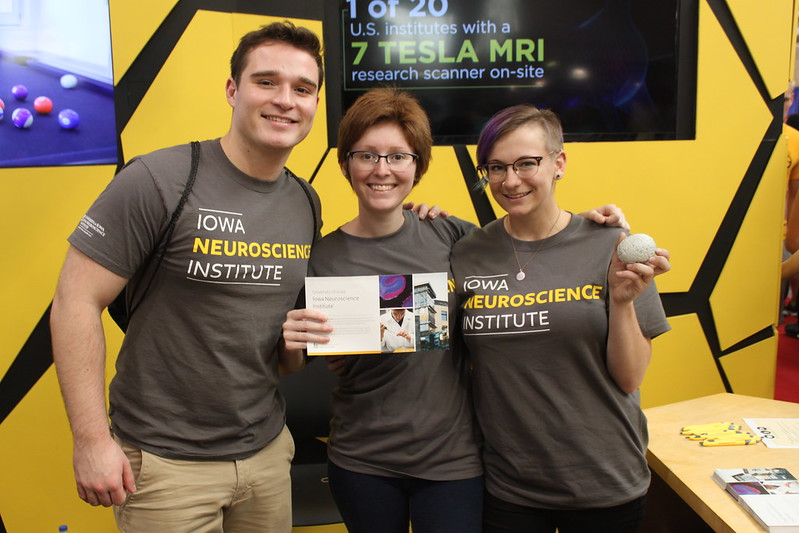 Iowa Neuroscience Institute at the Iowa State Fair