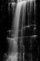 Force Gill, Slack Hill mono (alan.dphotos) Tags: rock rocks moss green leaves leaf waterfall copper grass hill whitewater long exposure mono autumn water colors forcegill slackhill force gill slack fall ribblehead yorkshiredales yorkshire dales landscape landscapephotography monochrome