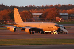 USAF KC135 (Dougie Edmond) Tags: prestwick scotland unitedkingdom gb military aircraft nice light airport pik egpk