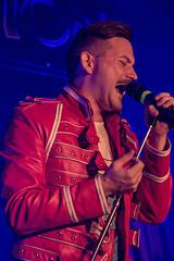 Queen machine (JOHN BRACE) Tags: queen cover band machine seen 33rd international fan club convention golden sands caravan park mablethorpe lincolnshire uk