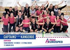 Kangeroe ballenmeisjes bij Team Eurosped; jan.2018