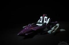 Micromaster Flattop (Klinikle) Tags: transformers micromasters micromaster hasbro decepticon decepticons g1 transport aircraft carrier jet flattop