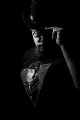 SteamBreton (xnoszam) Tags: selfie autoportrait 50mm nikon lowkey flash