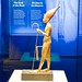 King Tutankhamun's tomb goods:  statude of the King with walking stick and flail