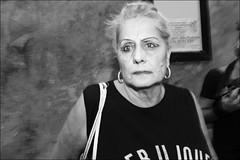 (Violent Eyes) (Robbie McIntosh) Tags: leicam9p leica m9p rangefinder streetphotography 35mm leicam autaut candid strangers leicaelmarit28mmf28iii elmarit28mmf28iii elmarit 28mm man woman flash shutterdrag draggingtheshutter blackandwhite monochrome bw religion napoli naples