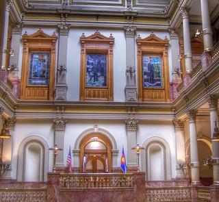 Denver Colorado  ~ Interior View ~  State Capitol of Colorado