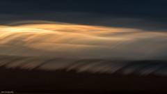 Sunset On the Fens (John Penberthy ARPS) Tags: intentionalcameramovement wikenfen d750 landscape sun nikon nationaltrust birds clouds migration fence evening marsh johnpenberthy