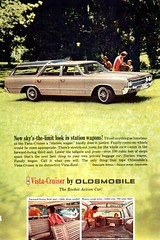 1965 Oldsmobile Vista Cruiser Wagon USA Original Magazine Advertisement (Darren Marlow) Tags: 1 5 6 9 19 65 1965 o olds oldsmobile v vista c cruiser w wagon car cool collectible collectors classic a automobile vehicle g m gm general motors u us usa united states american america 60s