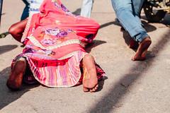 Woman Pilgrim Prostrate for Holi (AdamCohn) Tags: adam cohn uttar pradesh india mathura vrindavan holi pilgrim pilgrimage pilgrimmage pilgrims prostrate prostrating prostration wwwadamcohncom adamcohn uttarpradesh isapurbanger