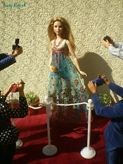 A-Z Photography Challenge 2.0: X - X marks to spot (Mary (Mária)) Tags: barbie doll ken fashion outfit toys model supernova c marks spot az challenge diorama dollphotographer sil dollphotography handmade red carpet marykorcek x nataliavodianova natalia camera star