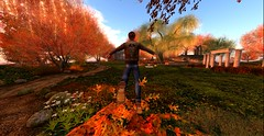 leaf jumper (serene.dean) Tags: fall autumn secondlife