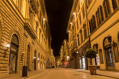 Via de' Tornabuoni (Bob Mcnair) Tags: night italy architecture citystreet firenze mediterranean florence