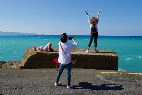 Tourists…