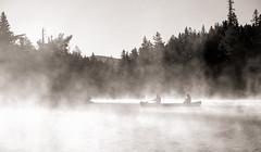 Wassataquoik Lake, Baxter State Park, Maine (jtr27) Tags: dscf2022xl jtr27 fuji fujifilm xf 1855mm f284 rlmois lm ois kitlens kitzoom wassataquoik lake fog vapor baxter state park maine newengland hike hiking backpacking landscape