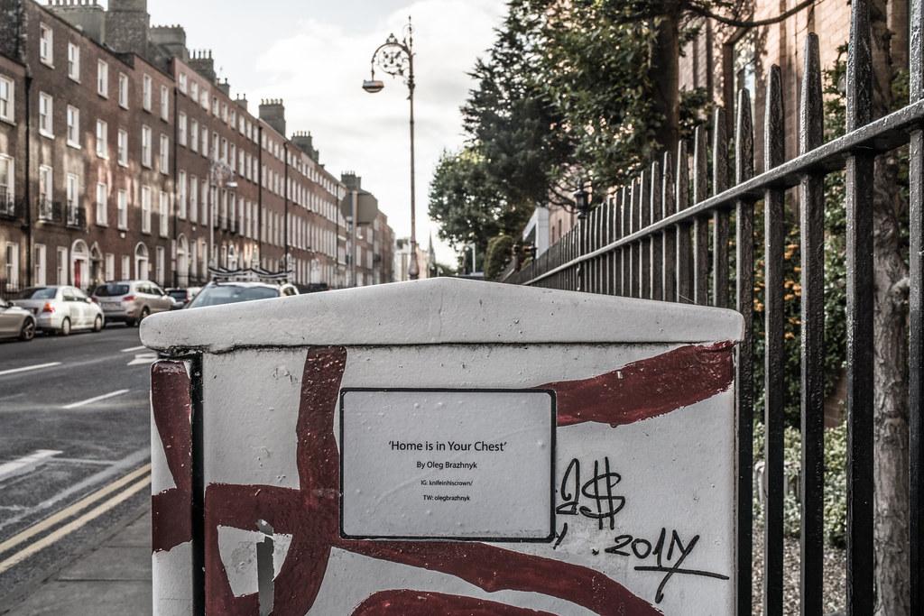 HOME IN YOUR CHEST BY OLEG BRAZHNYK [PAINT-A-BOX STREET ART ON ECCLES STREET IN DUBLIN]-144966