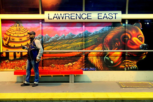 'Mirrors of Babel - Lawrence East Station - Universal Language, 2018'