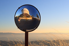 Lick Observatory Selfie (fksr) Tags: mounthamilton lickobservatory santaclaracounty california selfie mirror telescopedome sunset